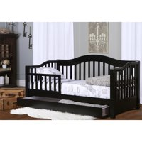 Dream on Me Toddler Day Bed with Storage, Multiple Finishes