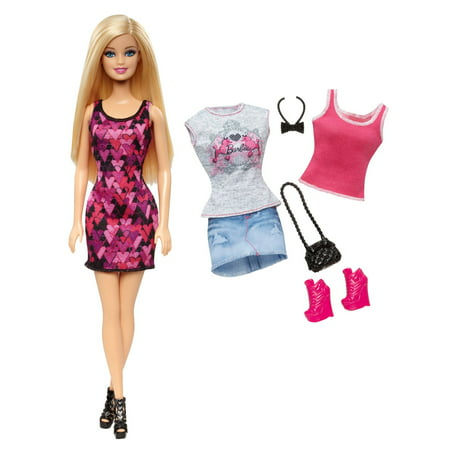 100% quality look out for half price Barbie Doll and Fashion Clothes Gift Set