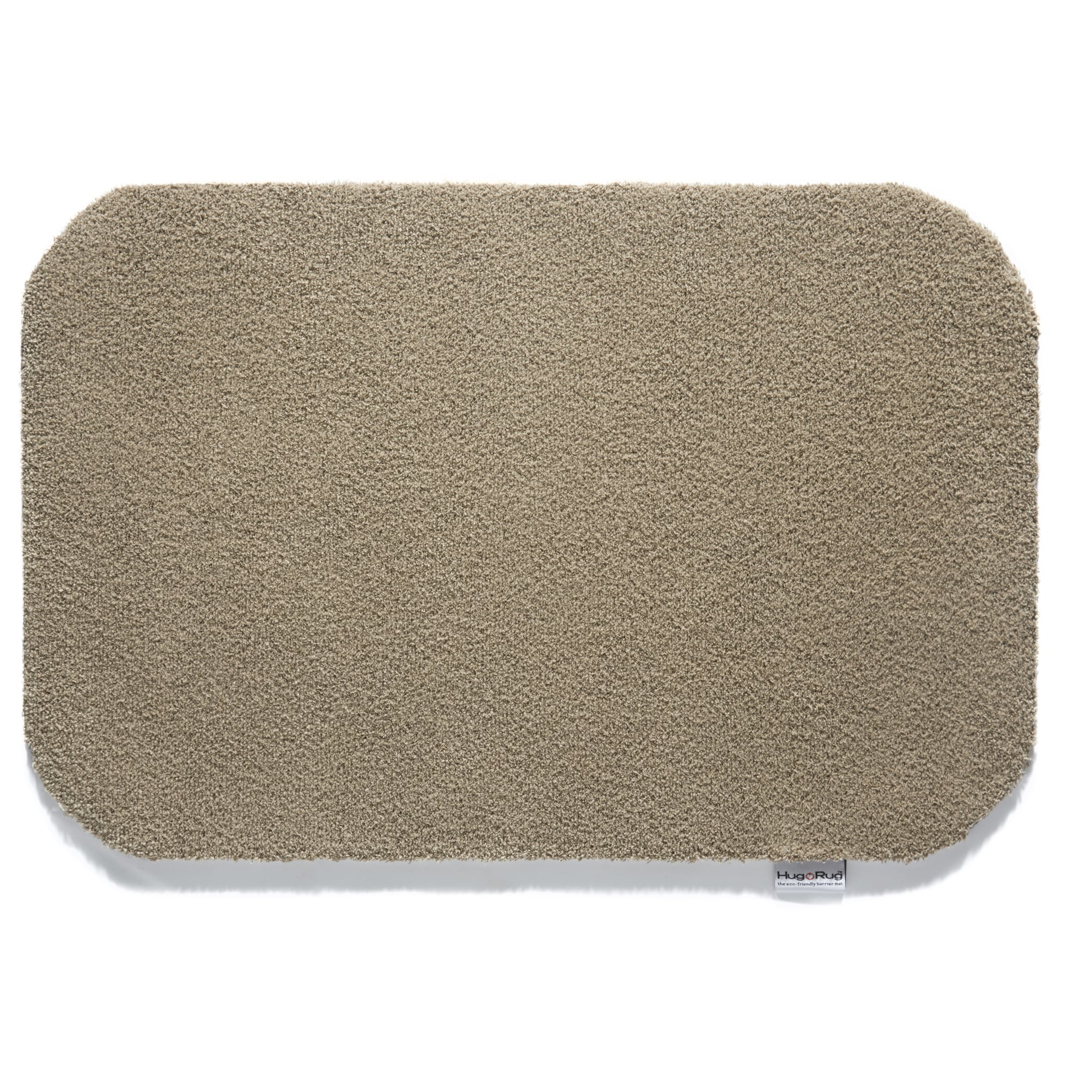 Bosmere Hug Rug Dirt Trapper Solid Color Washable Accent Rug (1'7.5 x 2'5.5) - 1'7 x 2'5