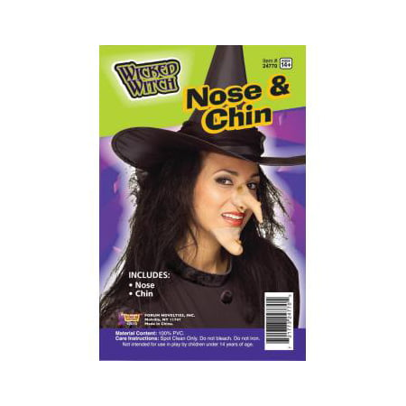 WITCH NOSE AND CHIN SET (Witches Noses)