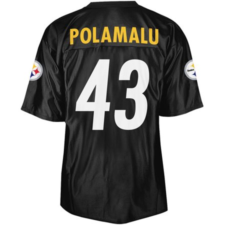 size 40 412de 819cb NFL - Men's Pittsburgh Steelers #43 Troy Polamalu Jersey