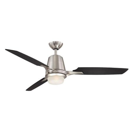 Hampton bay stylique ii 52 in brushed nickel ceiling fan walmart hampton bay stylique ii 52 in brushed nickel ceiling fan aloadofball Images