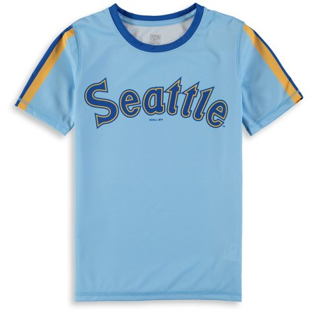 huge discount 994b4 b62c4 Seattle Mariners Majestic Youth Cooperstown Collection ...