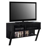 "Ameriwood Home Layton Wall Mounted TV Stand for TVs up to 47"", Black Oak"