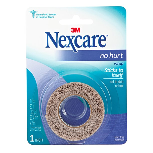 "Nexcare No Hurt Tape, 1"" x 2.2 Yards - Walmart.com - Walmart.com"