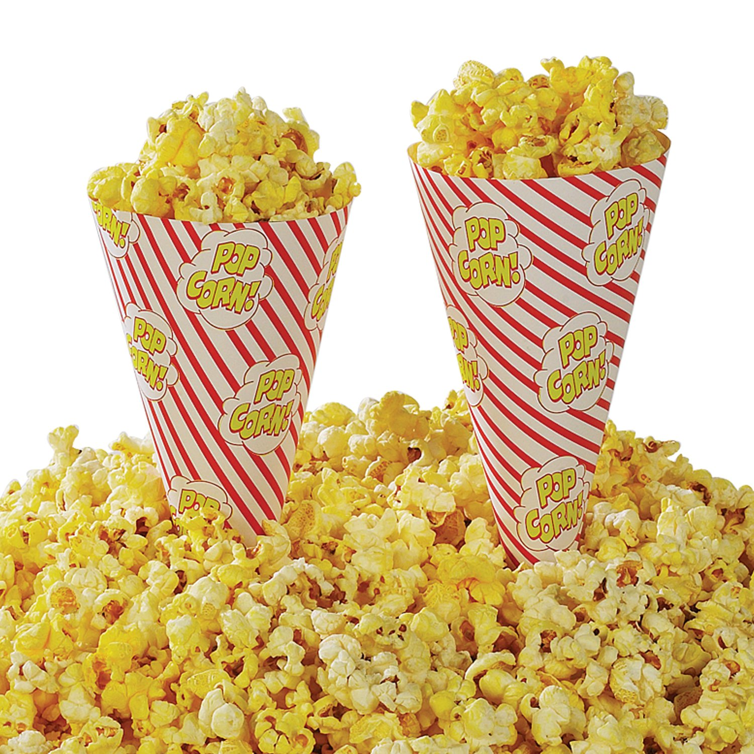 Gold Medal Cone A Corn Popcorn Cup (2,500 ct.) - (Popcorn Packaging)