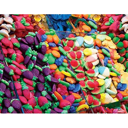 Springbok Puzzles - Fruit Flavors - 500 Piece Jigsaw Puzzle - Large 18  Inches by 23 5 Inches Puzzle - Made in USA - Unique Cut Interlocking Pieces