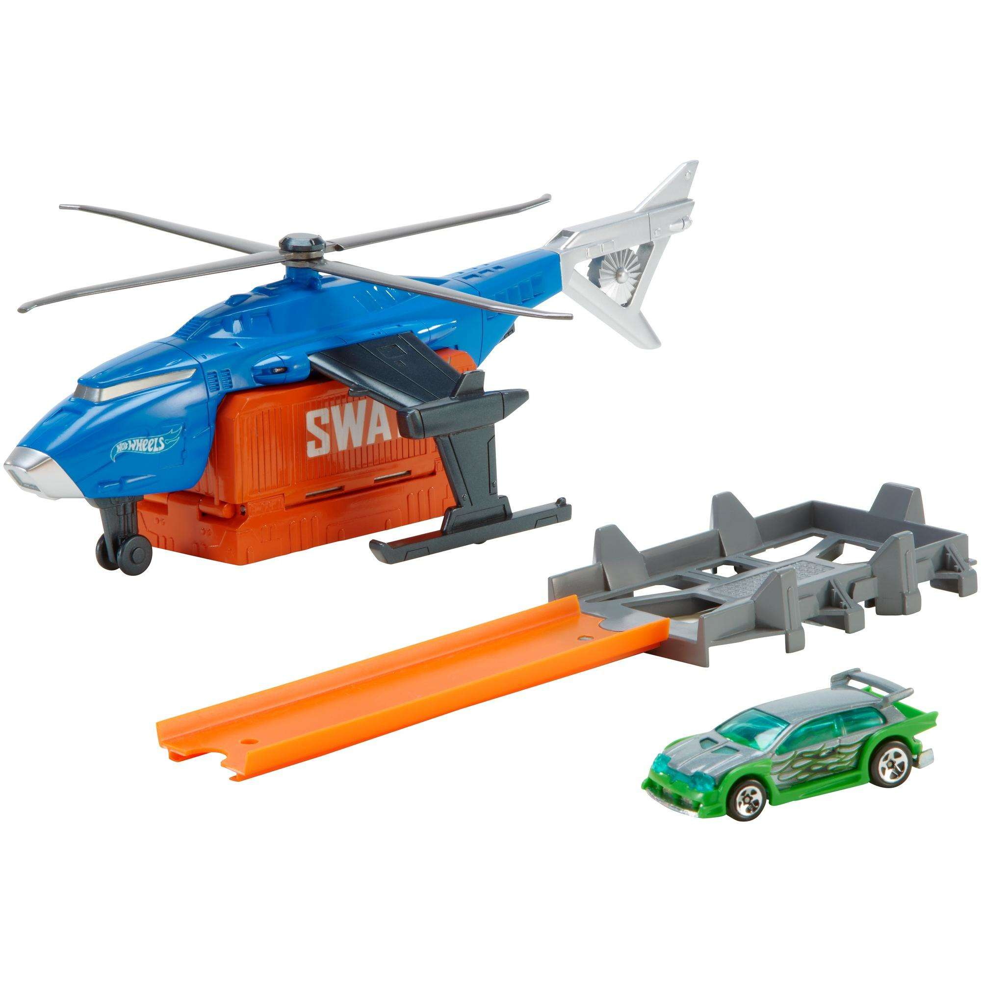 Hot Wheels Super S.W.A.T. Copter Vehicle by Mattel