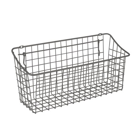 Spectrum Diversified Extra Large Pegboard & Wall Mount Basket, Industrial Gray, -