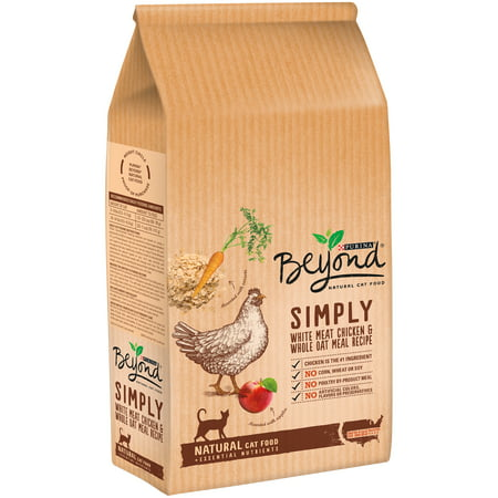 Purina Beyond Simply White Meat Chicken   Whole Oat Meal Recipe Cat Food 3 Lb  Bag