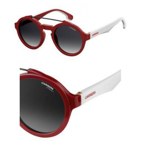 Sunglasses Carrera 1002 /S 03KJ Red White / 9O dark gray gradient (Carrera Sunglasses Review)