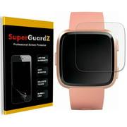 [2-Pack] For Fitbit Versa 2 (2019) - SuperGuardZ [FULL COVER] Screen Protector, HD Clear, Anti-Scratch, Anti-Bubble