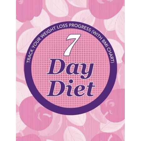 7 Day Diet Track Your Weight Loss Progress With Bmi Chart