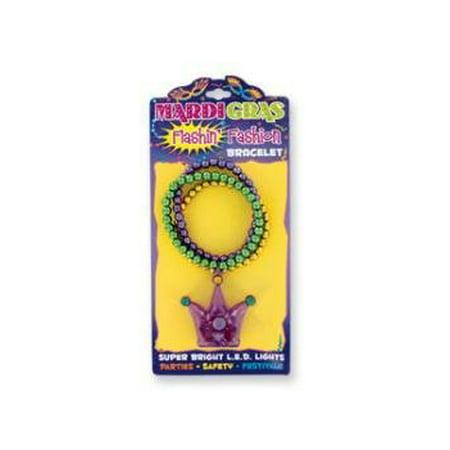 Mardi Gras Flashing Bracelet-1 piece (Flashing Bracelet)