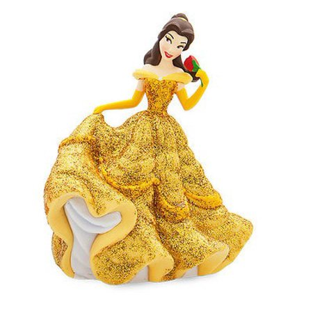 Disney Princess Beauty and the Beast Belle in Ballgown PVC Figure [Glitter] [No Packaging]