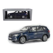 BMW X5 5.0i xDrive (F15) Imperial Blue 1/18 Diecast Model Car by Paragon