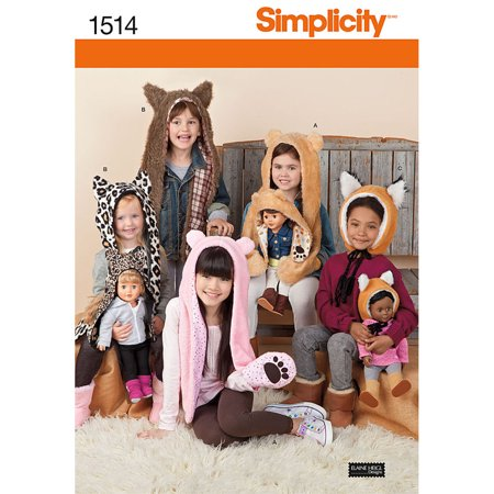 Simplicity Patterns Crafts Costumes, S-L