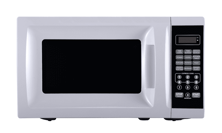 Mainstays 0.7 cu ft. 700 Watt Microwave, White with 10 Power Levels