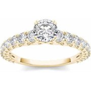 1 Carat T.W. Diamond Classic 14kt Yellow Gold Engagement Ring