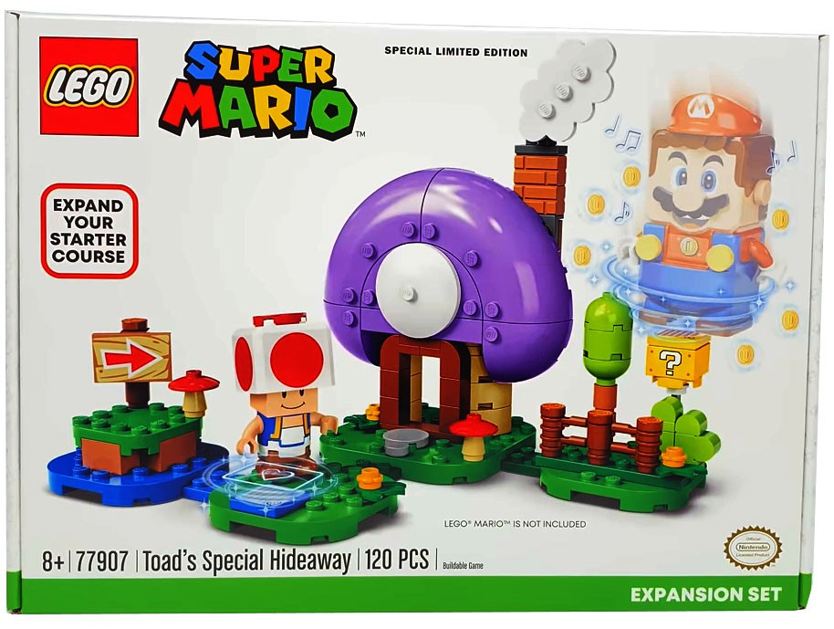 Lego Toad's Special Hideaway 77907 Super Mario Expansion Limited Edition NEW