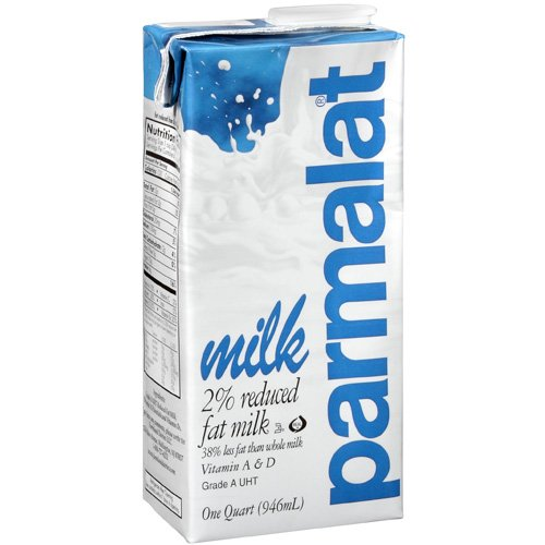 Parmalat 2% Reduced Fat Milk, 1 qt