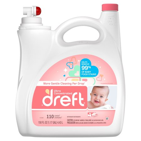 Product of Dreft Ultra Concentrated Liquid Laundry Detergent, 150 fl. oz. [Biz Discount] Ultra Laundry Detergent