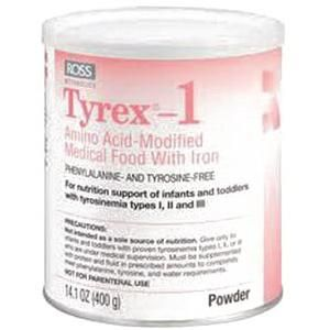 Abbott Nutrition Tyrex-1 Amino Acid-Modified Infant Formula with Iron 1 Count, 14.1 oz, Can, Unflavored