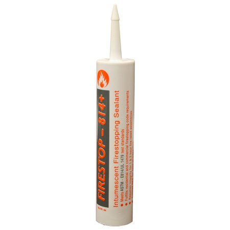 Firestop Sleeve (Pack 12, 10.3 oz. Firestop 814+ Intumescent Firestopping Sealant ,PartNo)