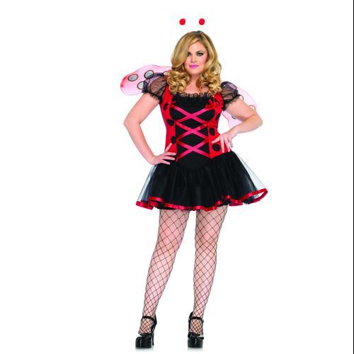 Lovely Ladybug Womens Plus Size Costume size 3X/4X