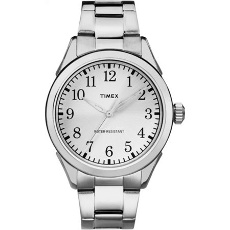 Timex Mens Briarwood Watch  Silver Tone Stainless Steel Bracelet