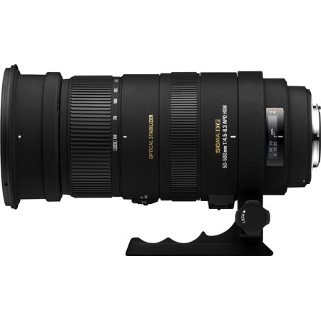 Sigma 50-500mm f/4.5-6.3 APO DG OS HSM SLD Ultra Telephoto Zoom Lens for Canon Digital SLR (Sigma 70 200mm 1 2-8 Apo Dg Hsm)