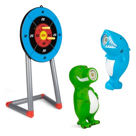 Super Toys 11-Piece Target Blaster Game with Fun Characters - Fun Blaster Halloween Games
