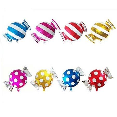 AnnoDeel 8 pcs Candy Balloons 25