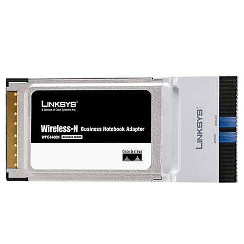 Linksys WPC4400N Wireless-N Business Notebook Adapter Driver Download