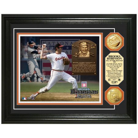 Brooks Robinson Baltimore Orioles Hall of Fame Gold Coin Photo Mint - No Size