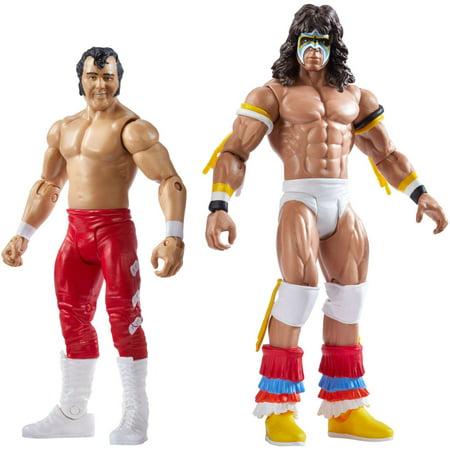WWE Summerslam Ultimate Warrior & Honky Tonk Man 2-Pack - Male Warrior