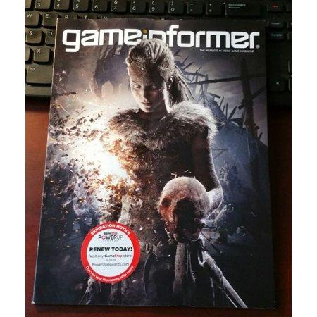 Game Informer Magazine Hellblade Senua S Sacrifice Issue 289 2017
