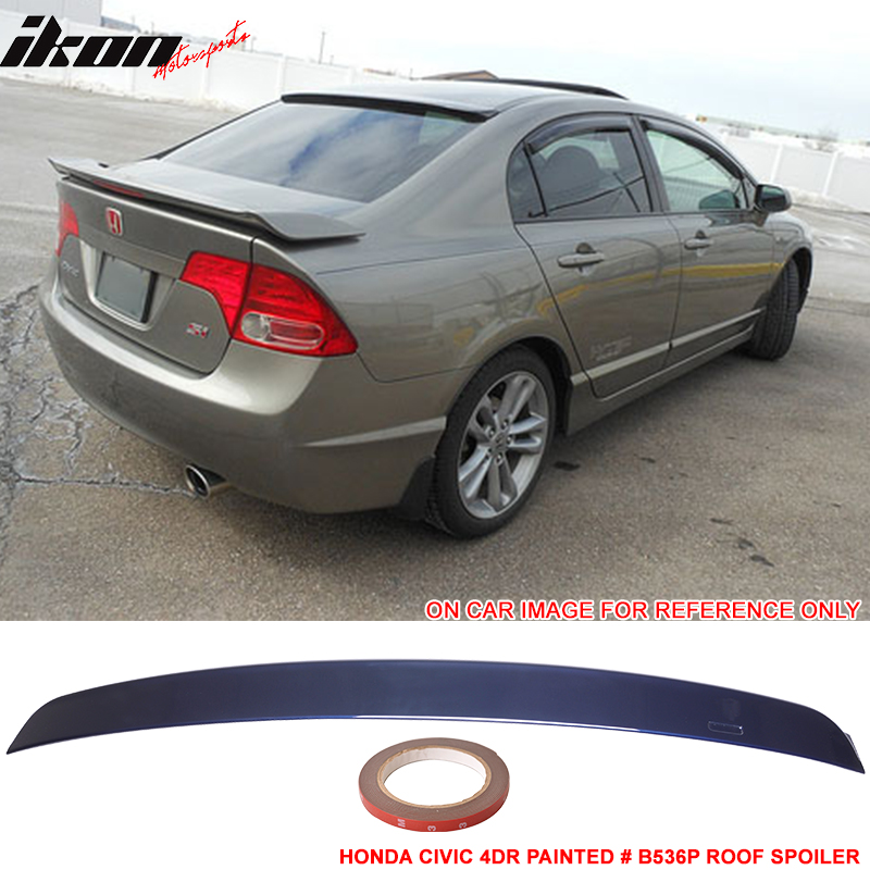 Fits 06-15 Honda Civic AC Style Roof Spoiler