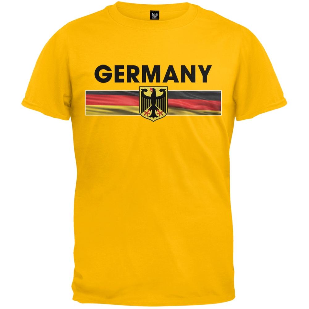 FIFA Germany Eagle Crest Black Soccer Mens Tank Top