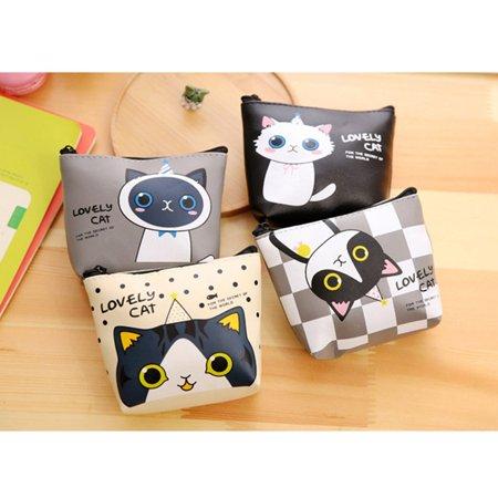 Brand New Creative Purses Small Size Earphone Key Card Coin Wallet Fashion Money Bag - image 3 de 7