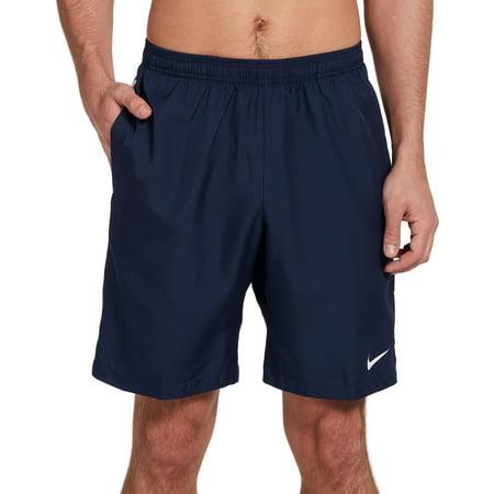 Nike Men's Court Dry 9'' Tennis Shorts, Midnight Navy/White/White, X-Small