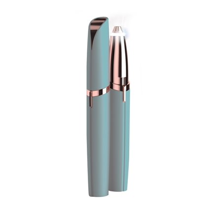 Finishing Touch Flawless Brows, Painless Precision Hair Remover, Sea Glass, As Seen on TV