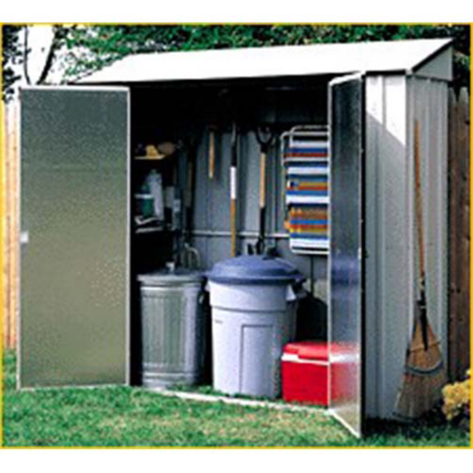 Arrow Shed Storage Locker 7 x 2 ft.