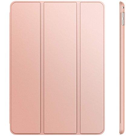 JETech Case for iPad Mini 4, Smart Cover with Auto Sleep/Wake, Rose