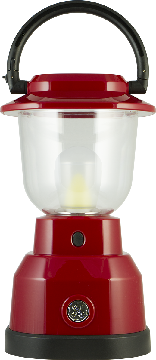 ge enbrighten dimmable lantern crimson red - Battery Operated Lanterns