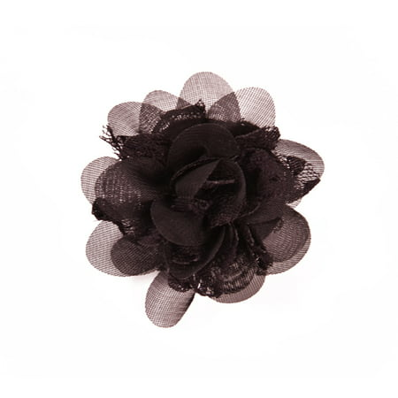 Expo Int'l Mary Kate Lace Chiffon Flower Brooch Pin and Hair (Hair Pin Lace Vest)