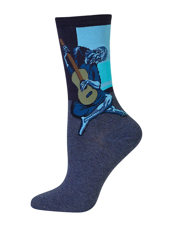 Old Guitarist Trouser Socks