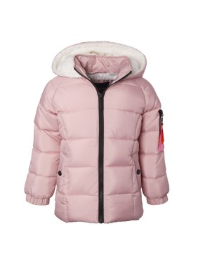 Limited Too Toddler Girl Sherpa Fleece Lined Winter Jacket Coat