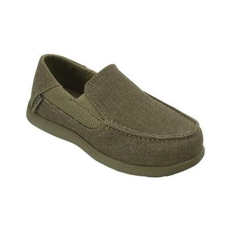 Crocs Boys' Child Santa Cruz II PS Loafers (Ages 1-6) Crocs Santa Cruz Men