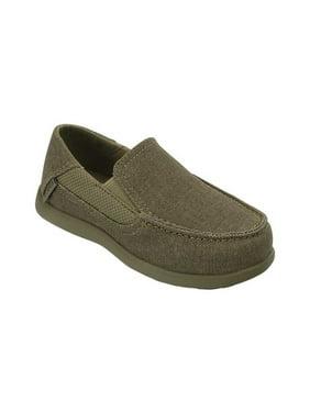 Crocs Boys' Child Santa Cruz II PS Loafers (Ages 1-6)